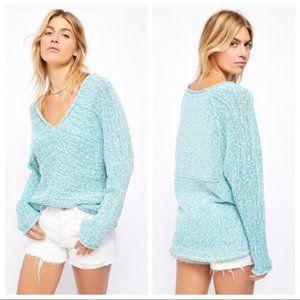 Free People Bright Lights V-Neck Sweater